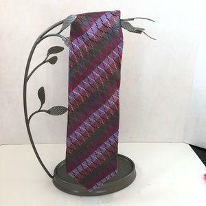 Missoni Cravate Tie Silk Signature Pattern